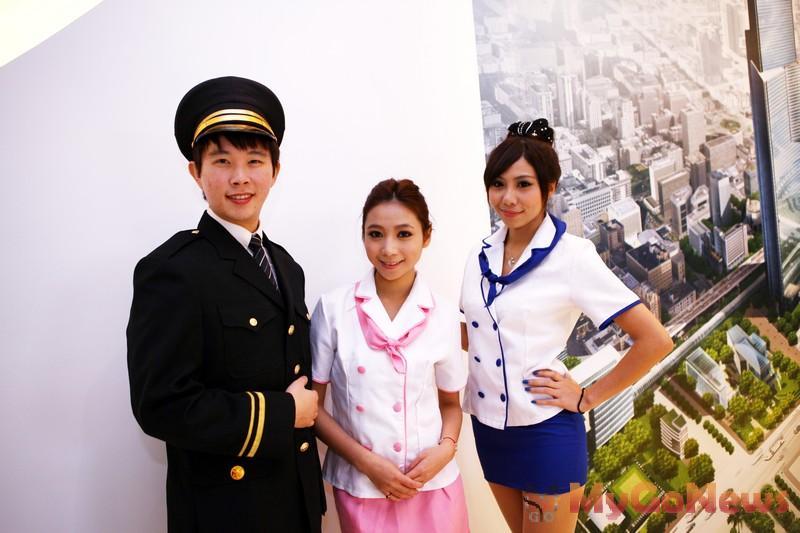 中華帝標SHOW GIRL制服六鐵共構