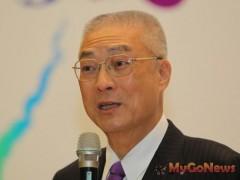 吳敦義:台灣將有環島高速公路與雙軌電氣化鐵路