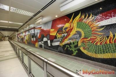 捷運新莊線大橋頭站至輔大站即將通車,沿線設置多采多姿公共藝術初體驗