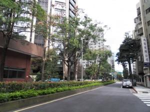 文華苑 安靜的街道
