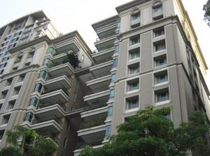 天璽三 大樓背面一景圖