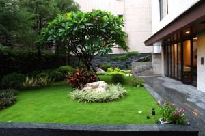 仁愛築綠 中庭花園