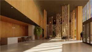 樸悅設計-花東渡假村大廳風格提案