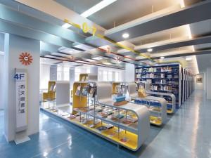 台灣藝術大學圖書館4F西文區